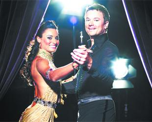 VOTED OFF: Craig Kelly with dance partner Flavia Cacace in Strictly Come Dancing