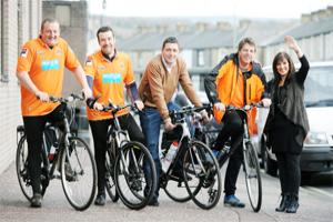 Blackpool fans ride to Burnley for Gary Parkinson