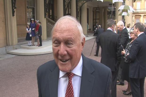 ARRESTED  Broadcaster Stuart Hall - a familiar voice of sport, news and gameshow It's A Knockout