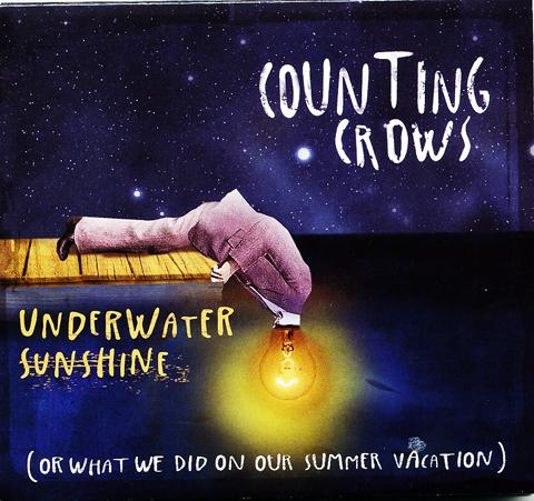 The cover of the new Counting Crows' album