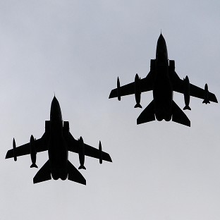 Two RAF Tornado jets have crashed in the Moray Firth