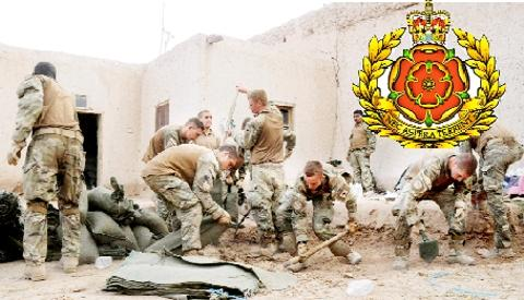 ACTION Troops from the Duke of Lancaster's Regiment in Afghanistan