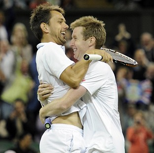 Jonny Marray (right) hopes Andy Murray can replicate his Wimbledon success