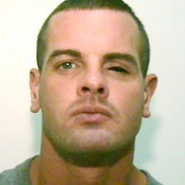 Dale Gregan, 29, from Droylsden, Tameside, wanted for questioning by police after a man was found dead following a gun attack