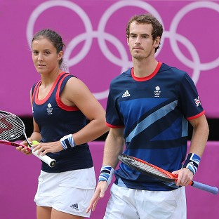 Andy Murray has tipped Laura Robson to become a top player