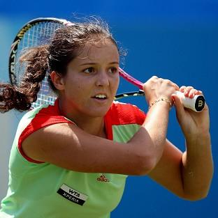 Laura Robson is in the fourth round of the US Open