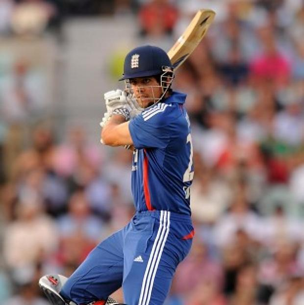 England captain Alastair Cook was pleased with his side's performance against South Africa