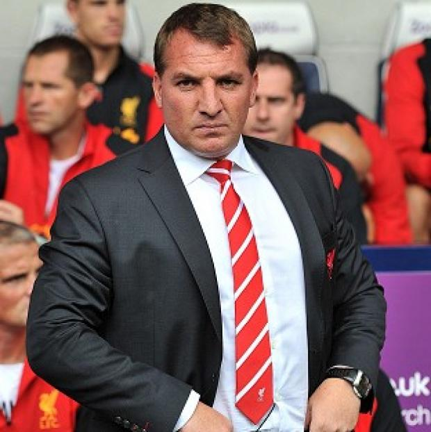 Brendan Rodgers's Liverpool are without a win in the league this season