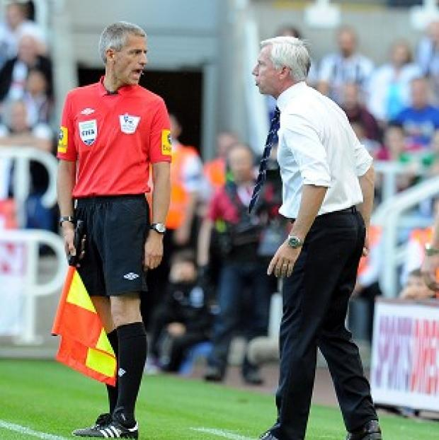Blackpool Citizen: Alan Pardew has been handed a two-game suspension