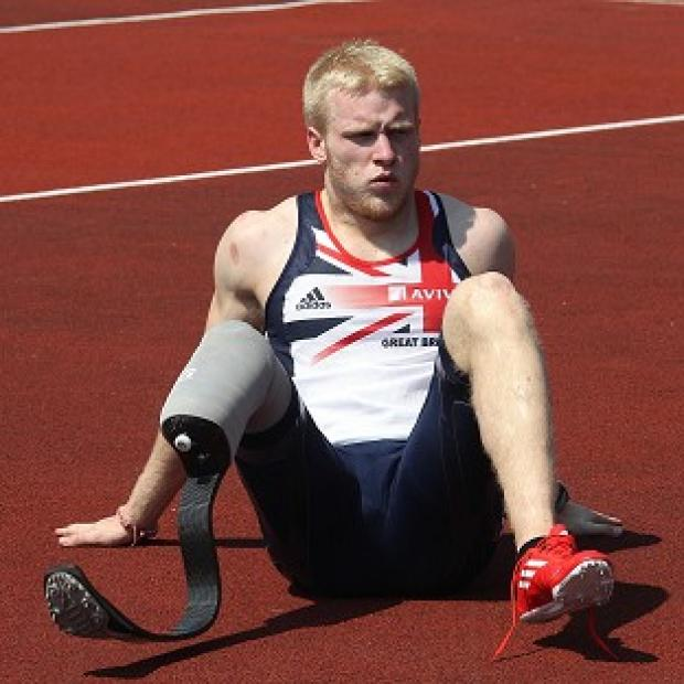 Blackpool Citizen: British favourite Jonnie Peacock will be aiming for gold in the Paralympics 100m