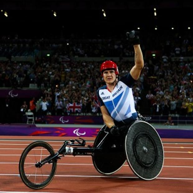 Blackpool Citizen: Double Paralympic champion David Weir is now targeting even more success in London