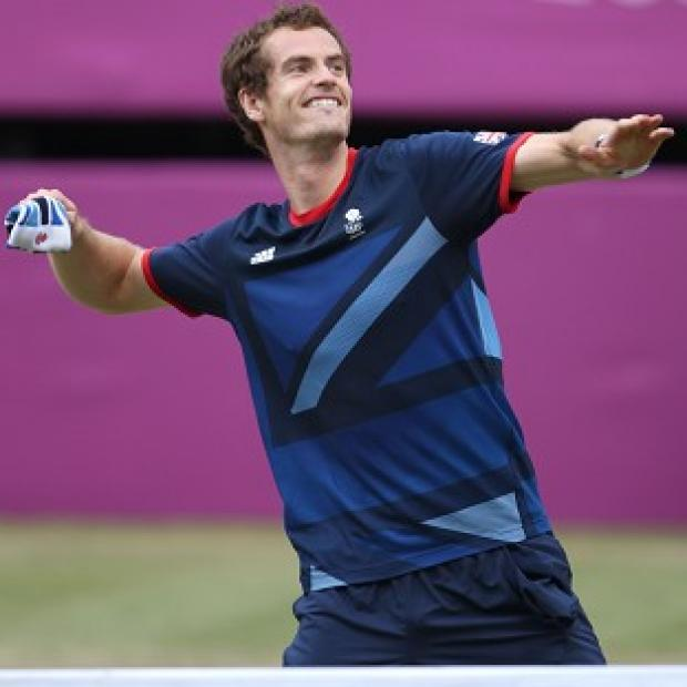 Blackpool Citizen: Andy Murray celebrates winning Olympic gold last month