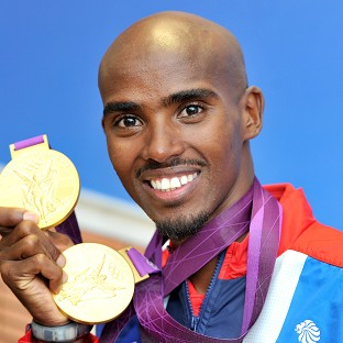 Mo Farah, pictured, and Jessica Ennis will lead over 700 British athletes on floats in Monday's victory parade