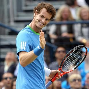Andy Murray, pictured, d