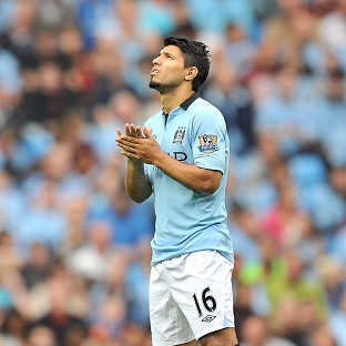 Sergio Aguero could play against Stoke