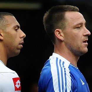 Anton Ferdinand, left, and John Terry, right, will face each other on Saturday