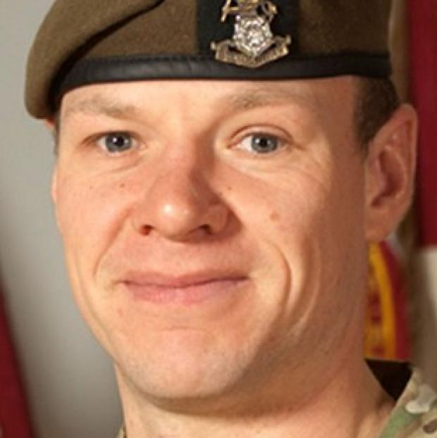 Sergeant Gareth Thursby of 3rd Battalion, The Yorkshire Regiment, was one of two soldiers killed by a man dressed as an Afghan policeman (MoD/PA)