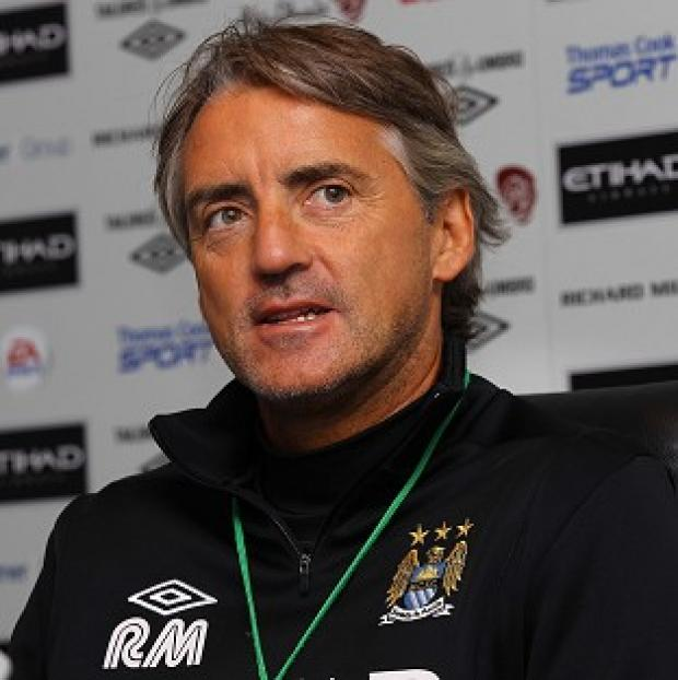 Blackpool Citizen: Roberto Mancini says Manchester City's long-term goal is European domination