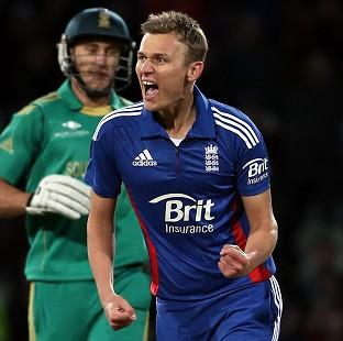 England's Danny Briggs took three wickets against Pakistan