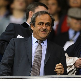 UEFA president Michel Platini was in attendance at White Hart Lane
