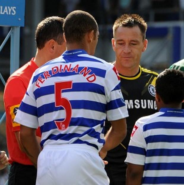 John Terry, right, is expected to appear at the hearing on Monday