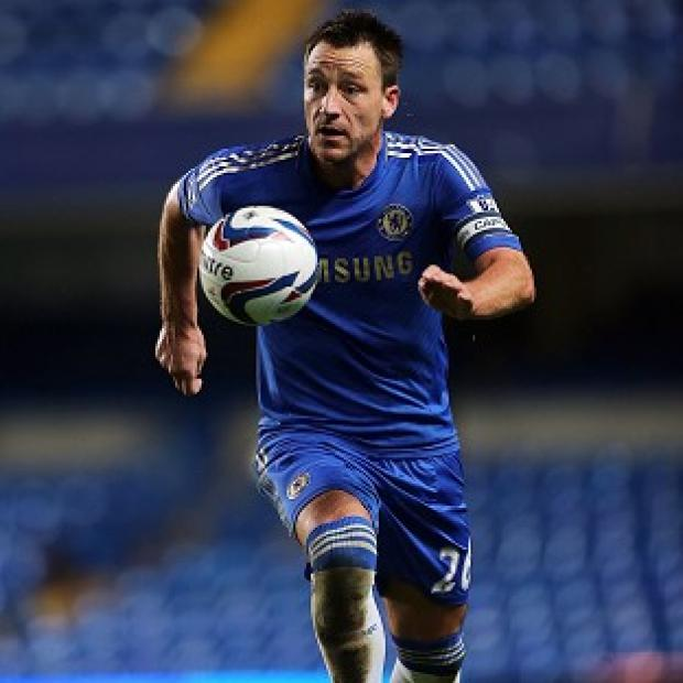 John Terry played in Chelsea's Capital One Cup match against Wolves
