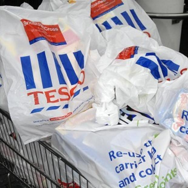 Tesco has reported a drop of 12 per cent in pre-tax profits for the six months to August 25