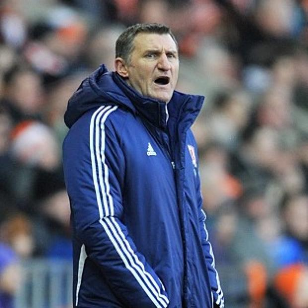 Blackpool Citizen: Tony Mowbray, pictured, claims Paul Coutts' late equaliser should have been ruled out for offside