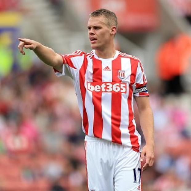 Blackpool Citizen: Stoke City's Ryan Shawcross was also eligible to play for Wales, as well as England