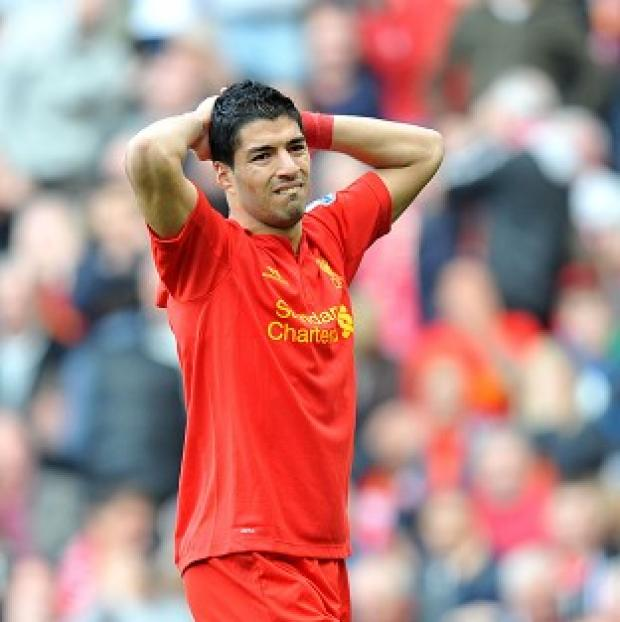 Luis Suarez, pictured, has come under fire from Tony Pulis