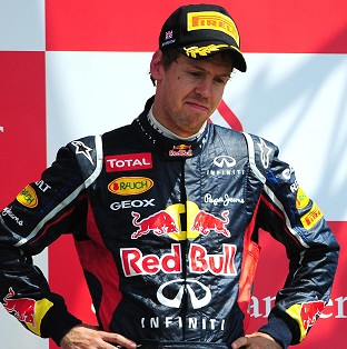 Sebastian Vettel was not getting too carried away after closing the gap to four points in the championship race