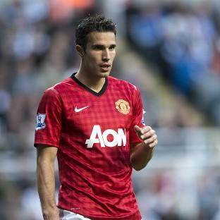 It is understood Robin van Persie, pictured, will not face FA action over an apparent elbow to the face of Yohan Cabaye