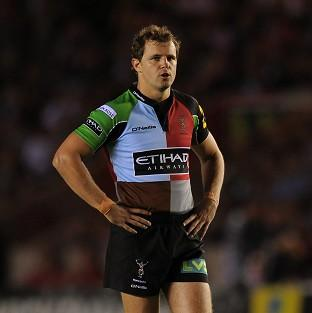 Harlequins are hopeful Nick Evans will not miss too much action with his ankle injury