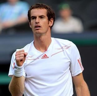 Andy Murray, pictured, faces Novak Djokovic in the final