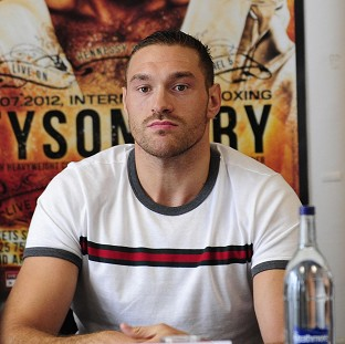 Tyson Fury, pictured, has launched a scathing and bizarre verbal attack on David Price