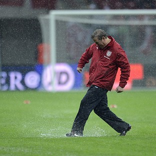 England's match against Poland has been rescheduled for Wednesday afternoon