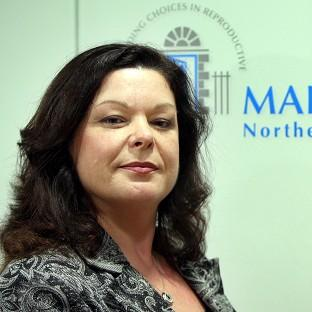 Dawn Purvis, programme director with Marie Stopes Northern Ireland, at her new Belfast office