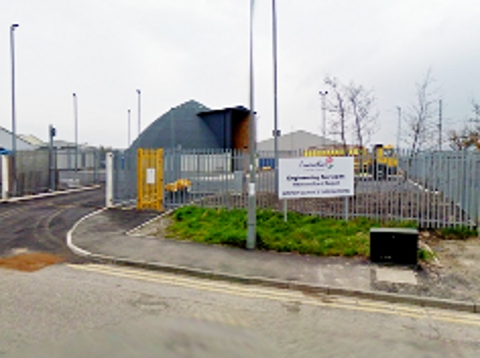 WORKS HQ  The council depot in Burnley