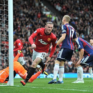 Wayne Rooney scored a brace as Manchester United defeated Stoke
