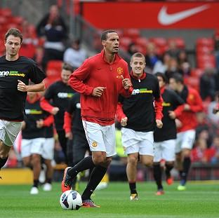 Viv Anderson says Rio Ferdinand, centre, was wrong to go against Sir Alex Ferguson