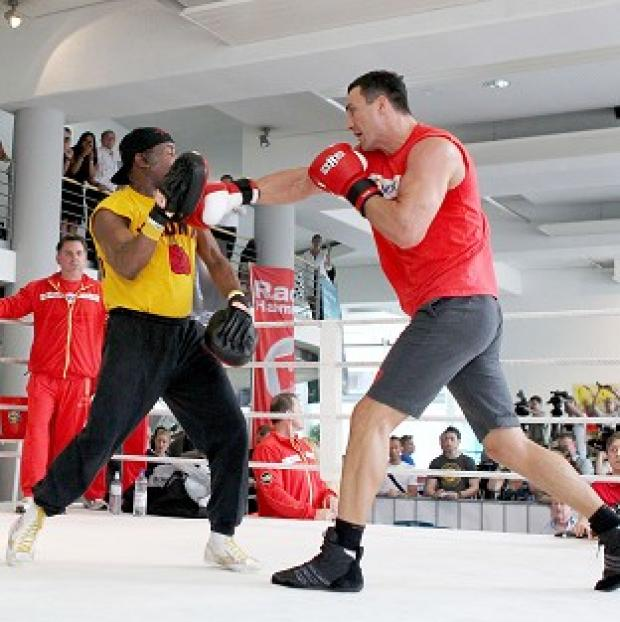 Wladimir Klitschko has paid tribute to Emanuel Steward