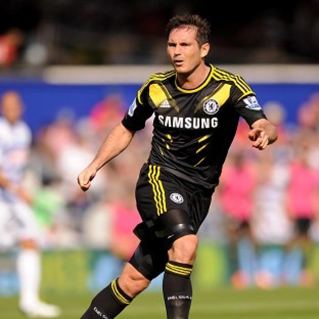 Frank Lampard is set to miss two weeks with a calf injury