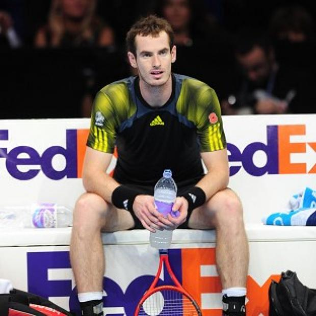 Andy Murray insisted he was happy at having played the 'best year' of his career