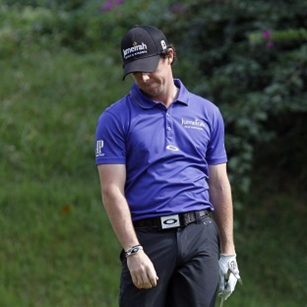 Rory McIlroy struggled in Hong Kong (AP)