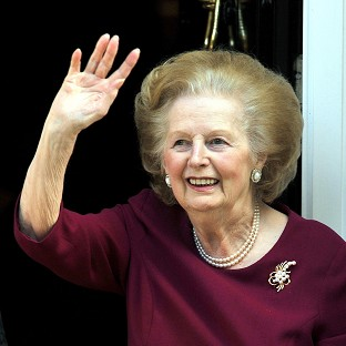 Thatcher to spend Xmas in hospital