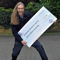 Andrew Garth won one million pounds in the EuroMillions Millionaire Raffle draw on Christmas Day (Richard Rayner/Camelot/PA)