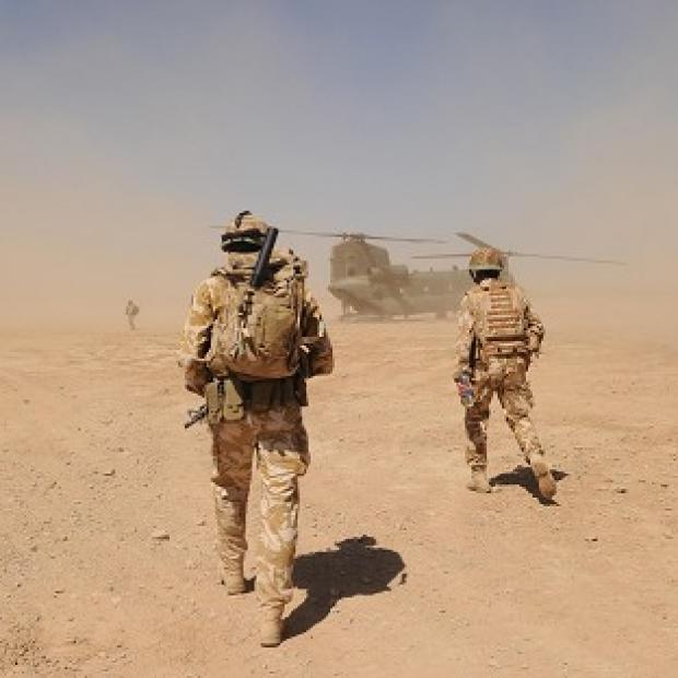 A British soldier has been shot dead in Afghanistan