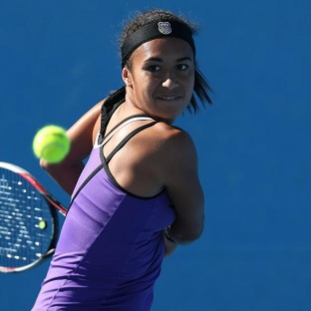 Heather Watson fought back from the brink against Ksenia Pervak (AP)