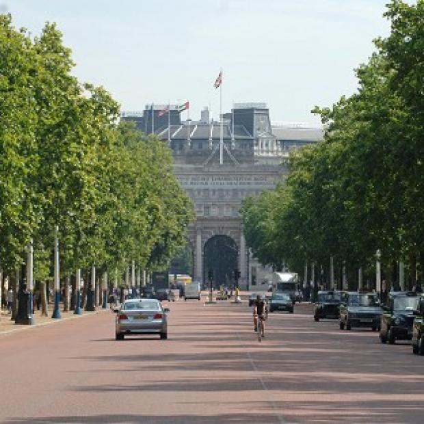 The Mall in central London will be the finish for a stage of the Tour de France