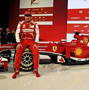 Fernando Alonso is not concerned about missing early testing (Ferrari/AP)